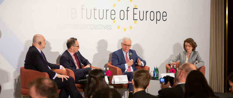 Ministers Jacek Czaputowicz and Heiko Maas on the future of the European Union