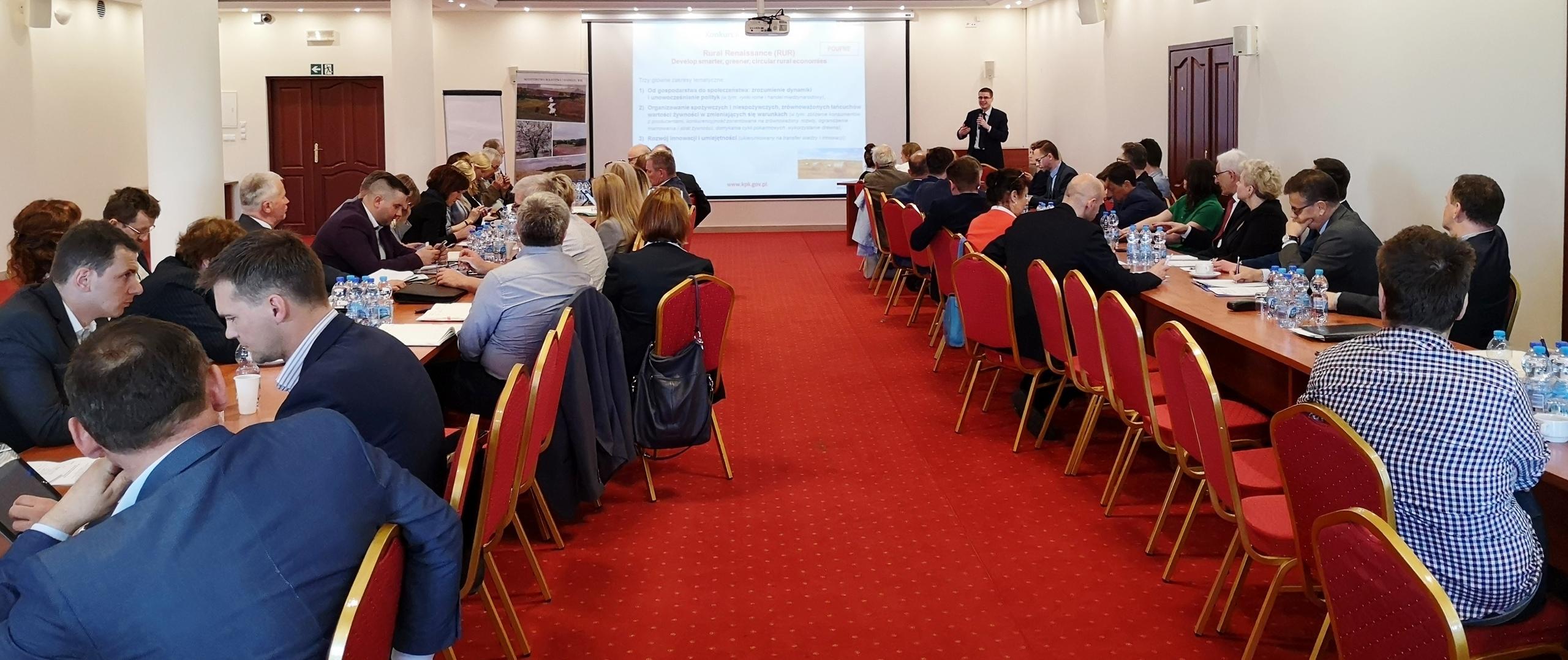 Spotkanie z instytutami badawczymi i jednostkami doradztwa rolniczego