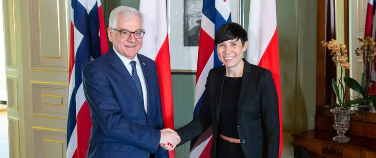 Minister Jacek Czaputowicz visits the Kingdom of Norway