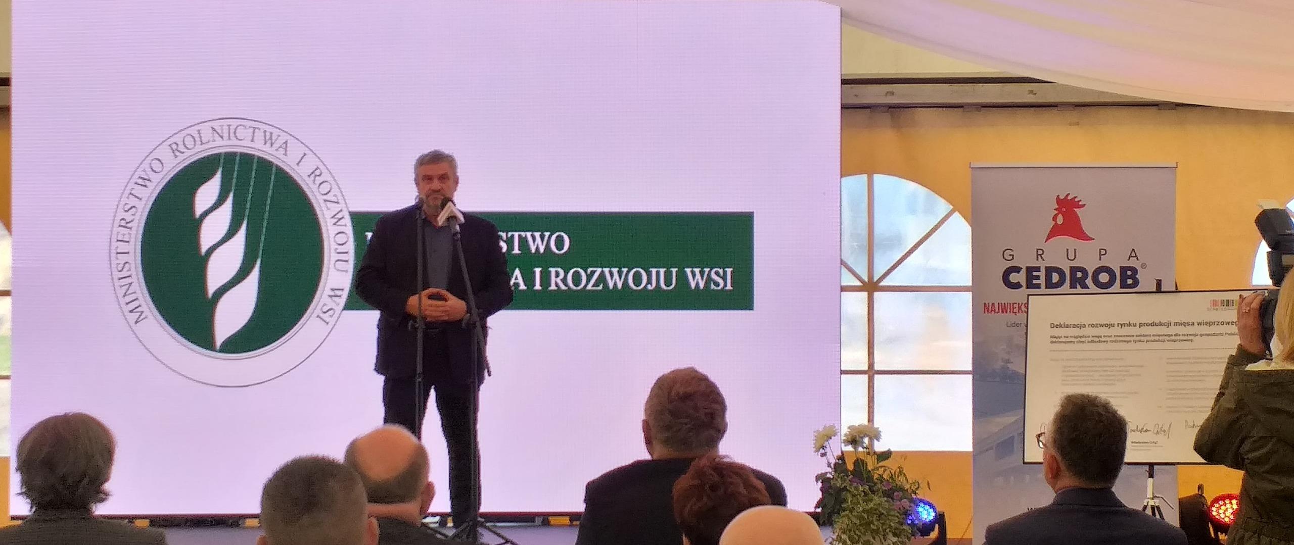 W województwie kujawsko-pomorskim o produkcji trzody chlewnej