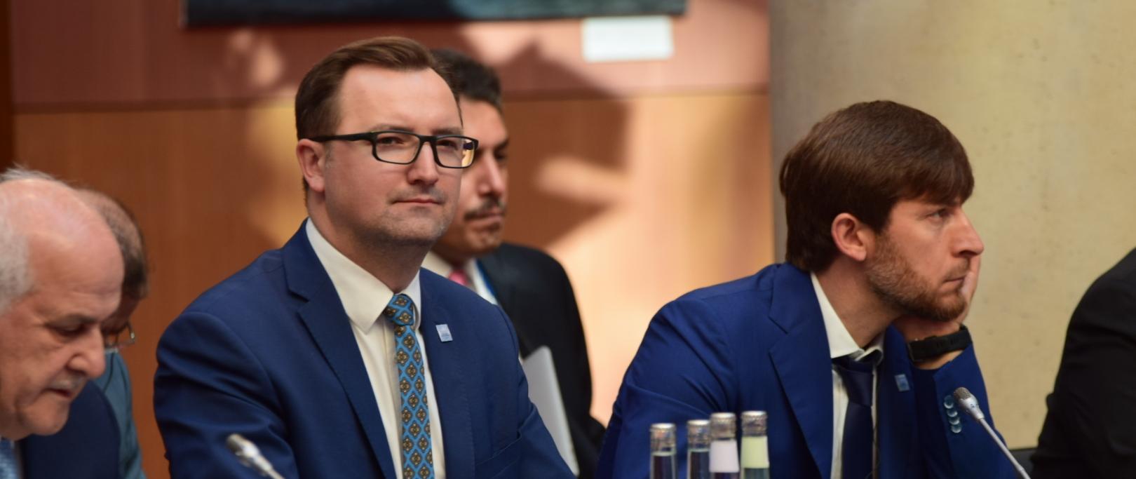 Wiceminister środowiska Sławomir Mazurek