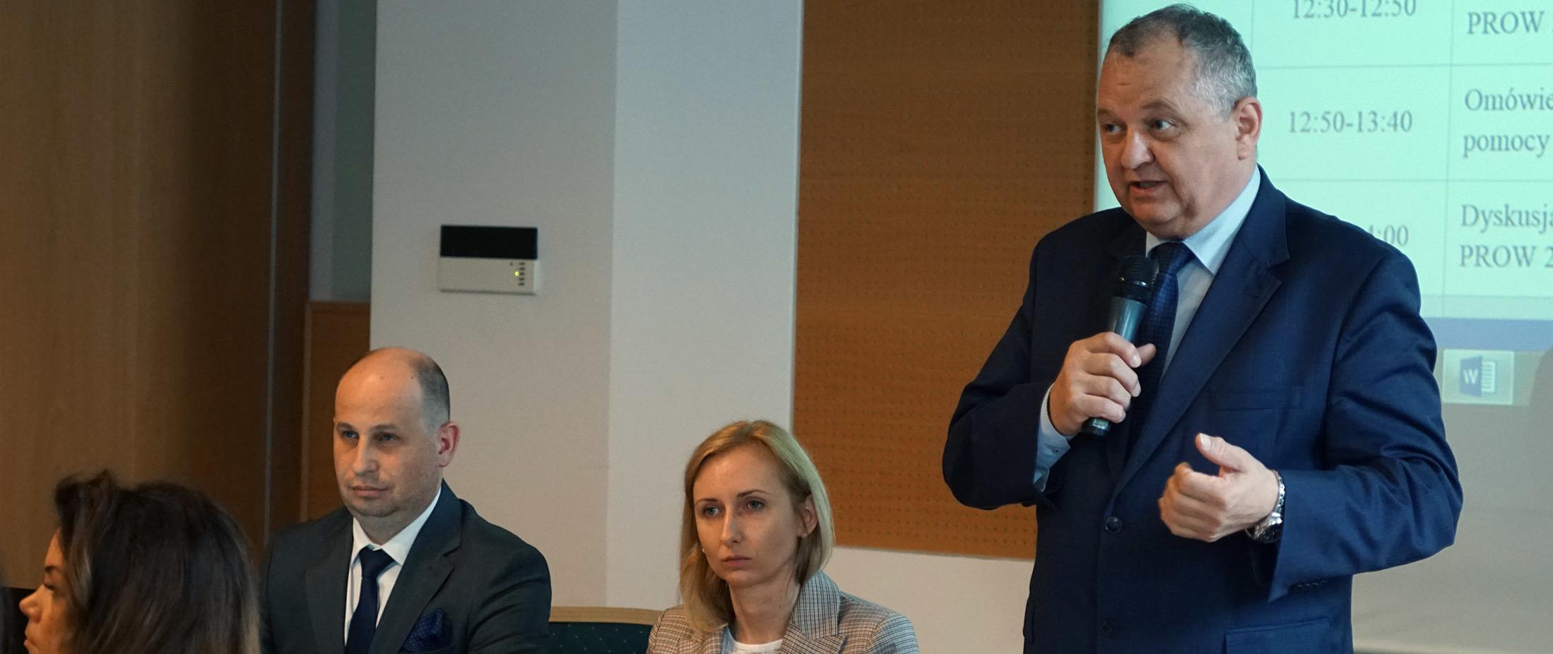 Spotkanie z beneficjentami pomocy technicznej PROW 2014-2020