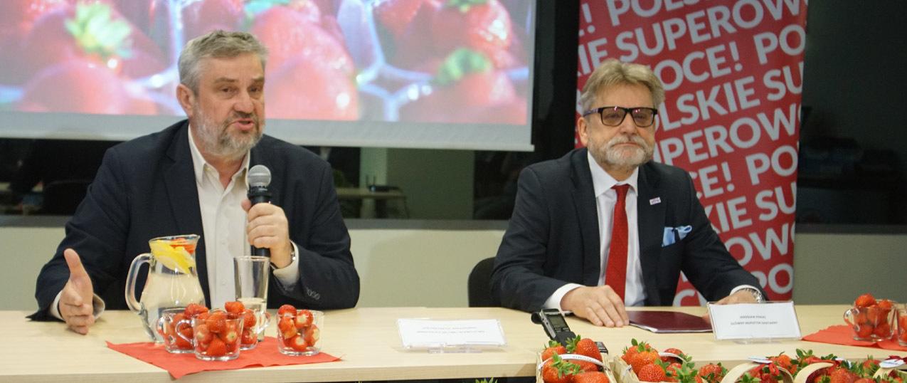 Minister Ardanowski i Główny Inspektor Sanitarny