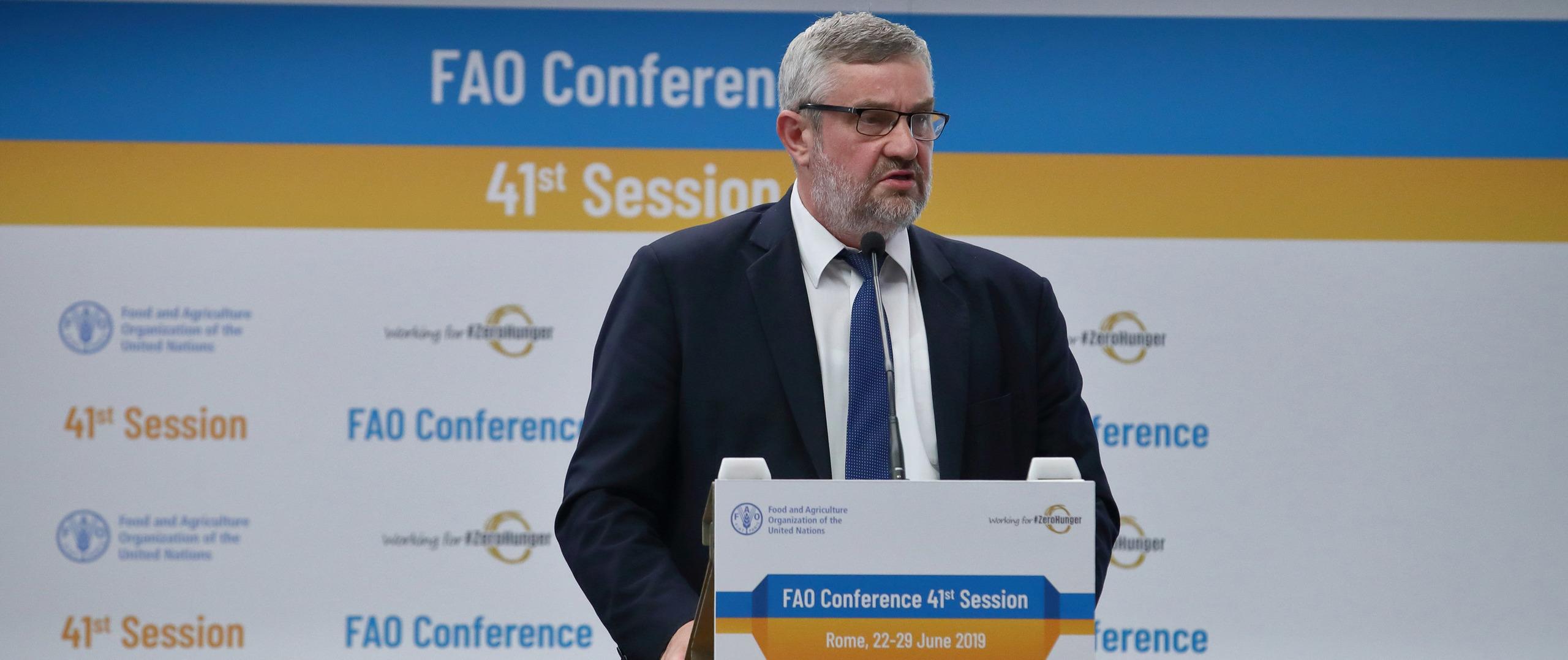 41. Sesja FAO