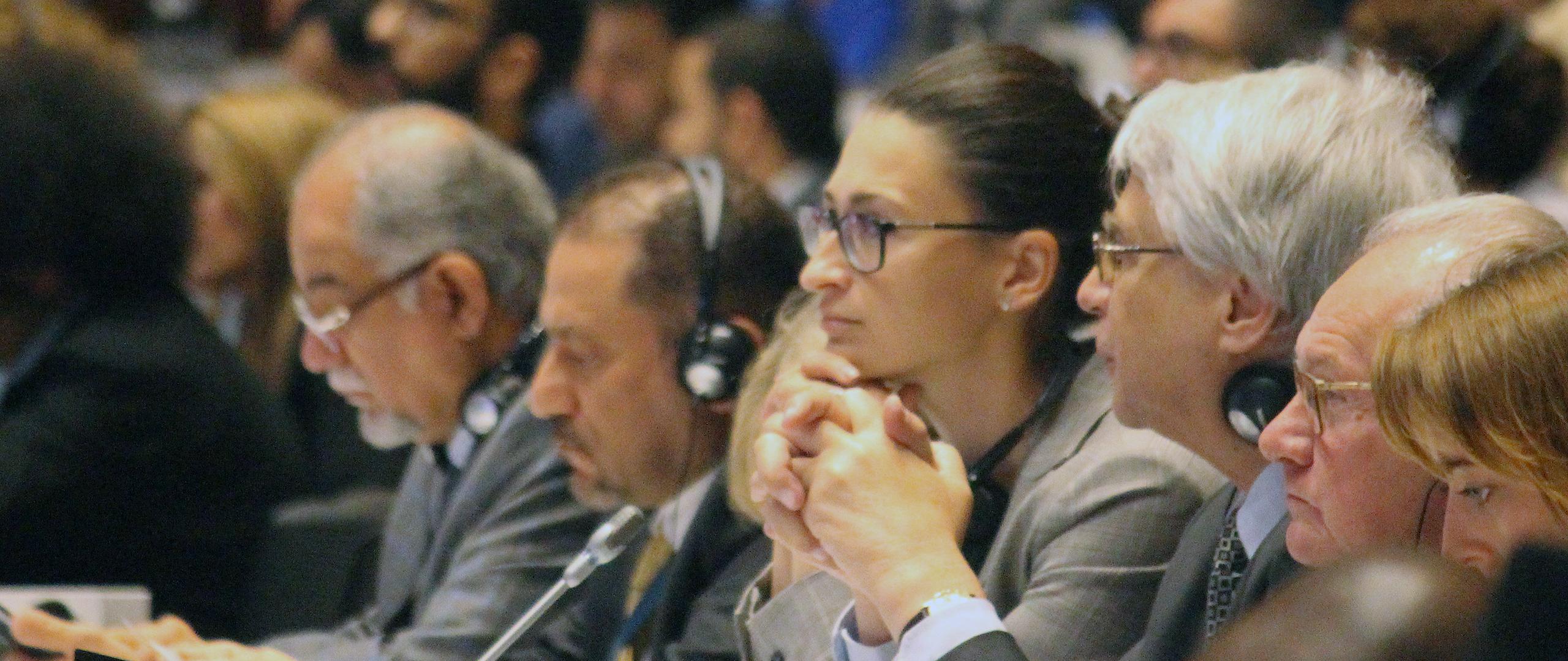 wiceminister Małgorzata Golińska podczas szczytu UNESCO w Baku