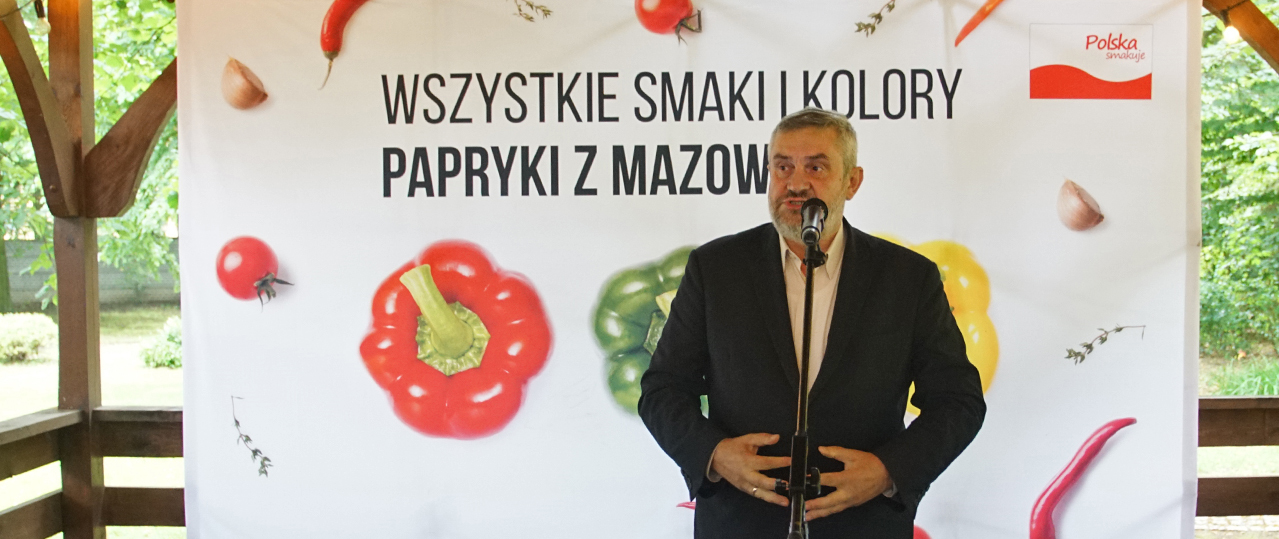 Wszystkie smaki i kolory papryki, cukinii i bakłażana z południa Mazowsza
