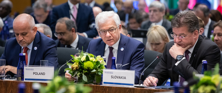 Minister Jacek Czaputowicz takes part in Ministerial to Advance Religious Freedom in Washington