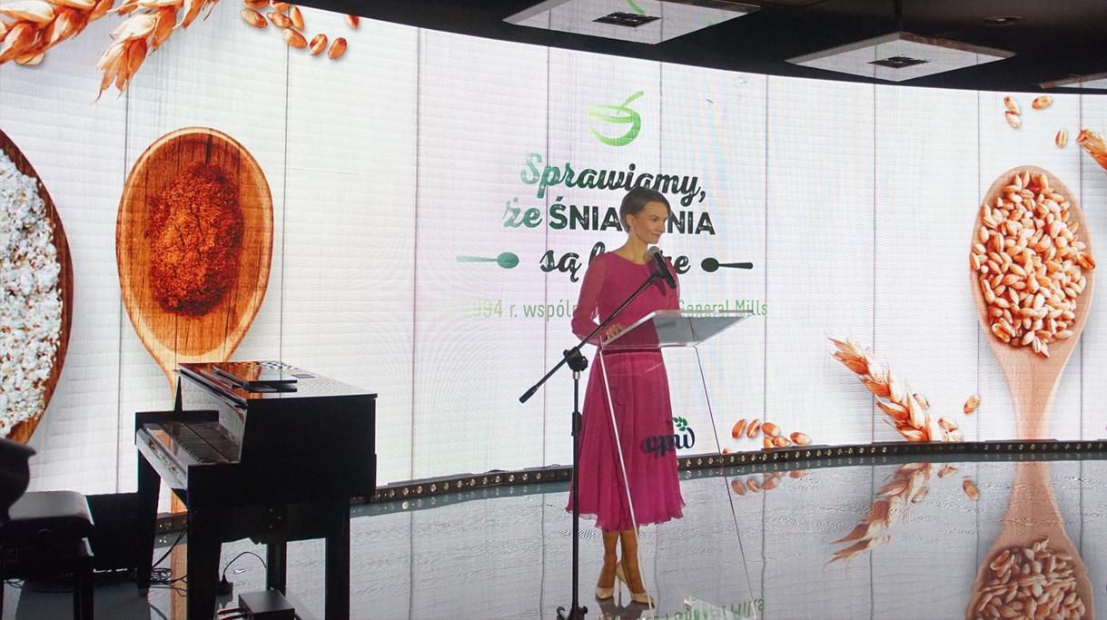 Uroczyste obchody 25 lecia współpracy Toruń-Pacyfic z Nestle i General Mills