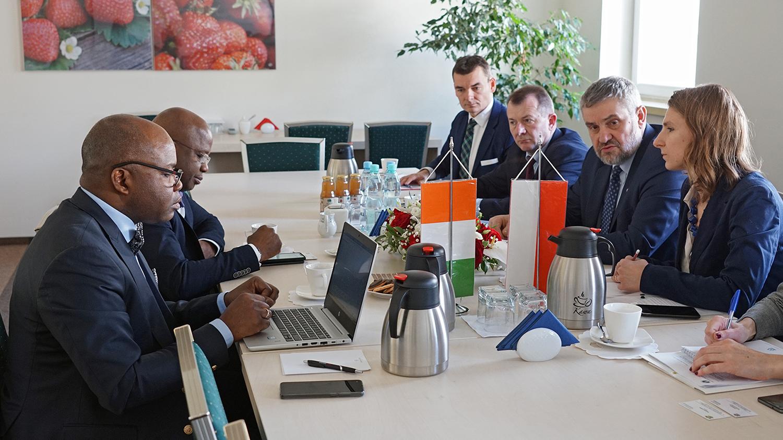 Spotkanie min. J. K. Ardanowskiego z delegacją Republiki Wybrzeża Kości Słoniowej