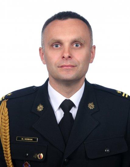 mł. bryg. Marcin NOWAK