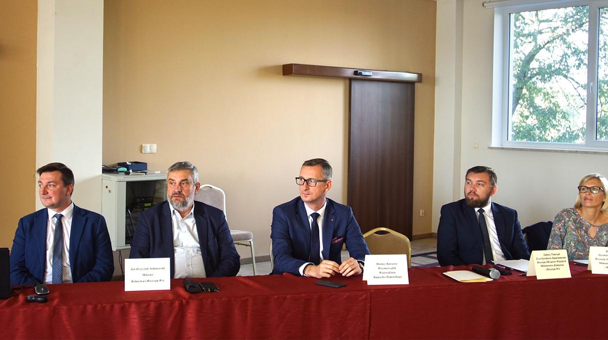 Minister Ardanowski jednym z głównych gości spotkania