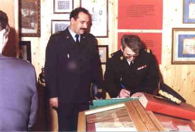 19 grudnia 1992 roku wizytę w Komendzie Rejonowej w Brodnicy złożył Komendant Główny Państwowej Straży Pożarnej nadbryg. inż. Feliks Dela.