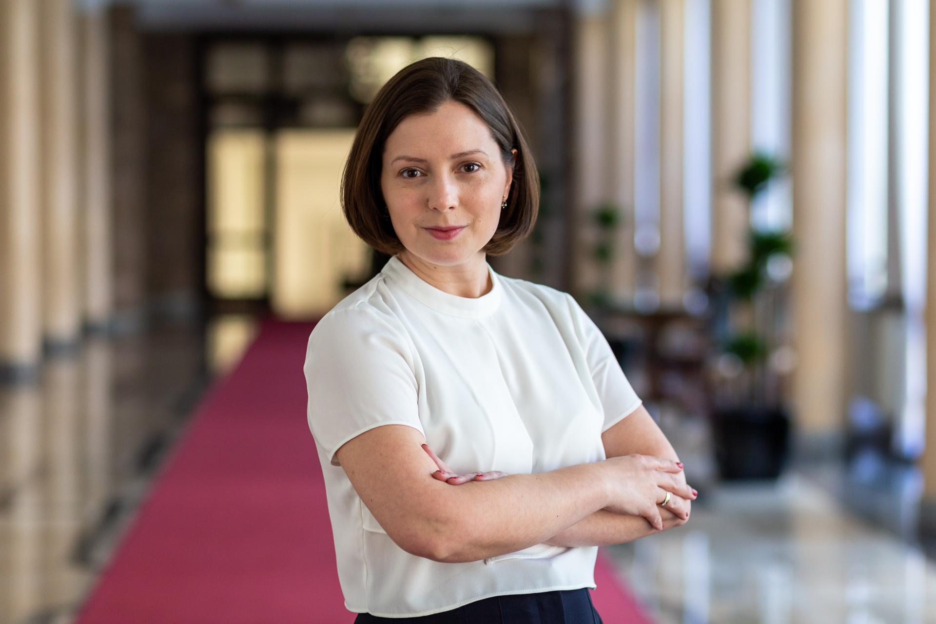 Iwona Prószyńska - Rzecznik prasowy Ministra Finansów
