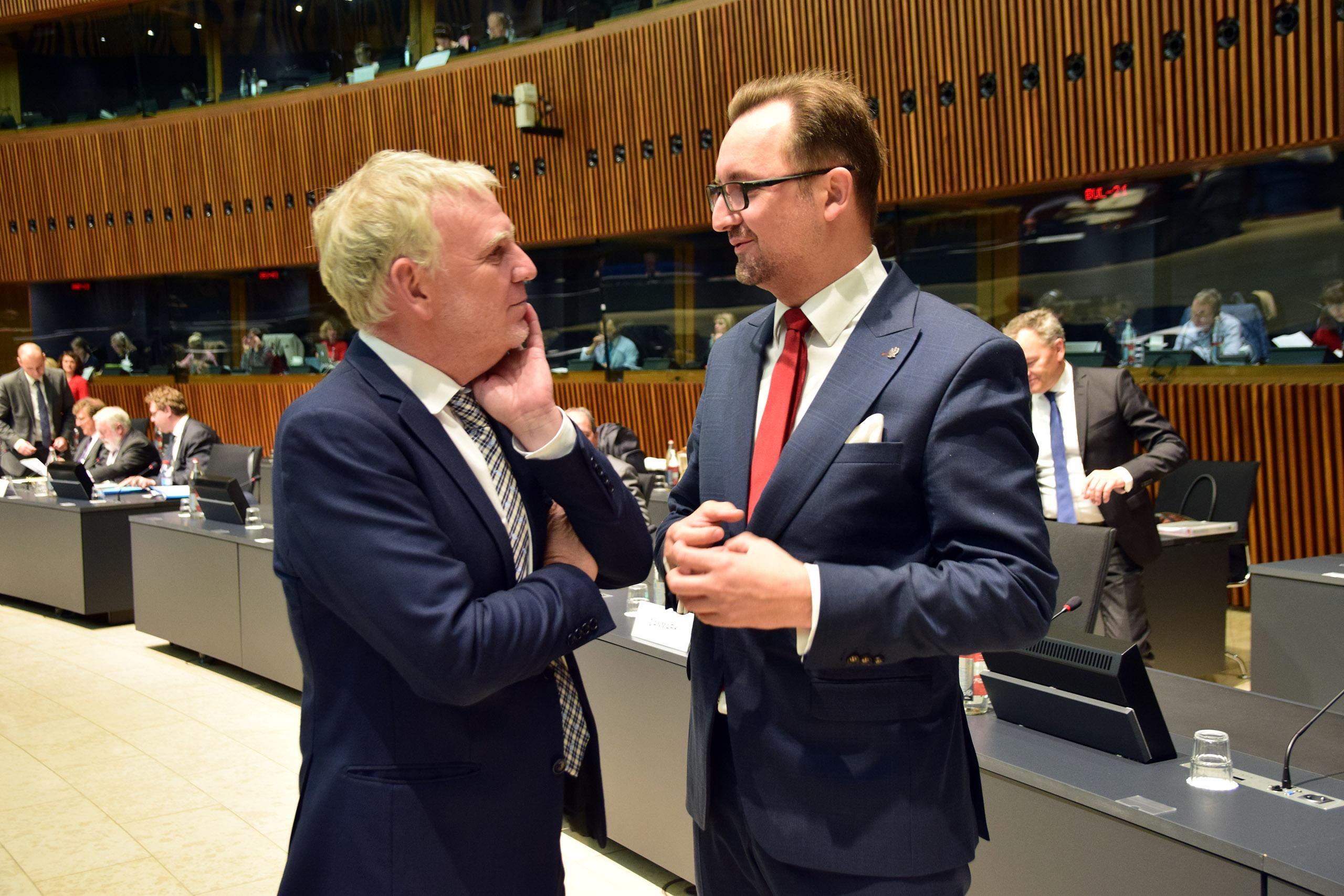 Rada UE ds. Środowiska - Luksemburg