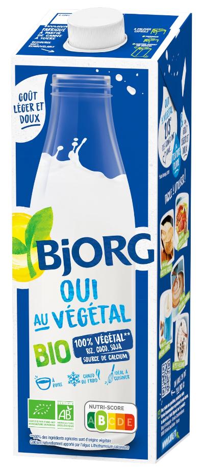 Ostrzeżenie napój Bjorg