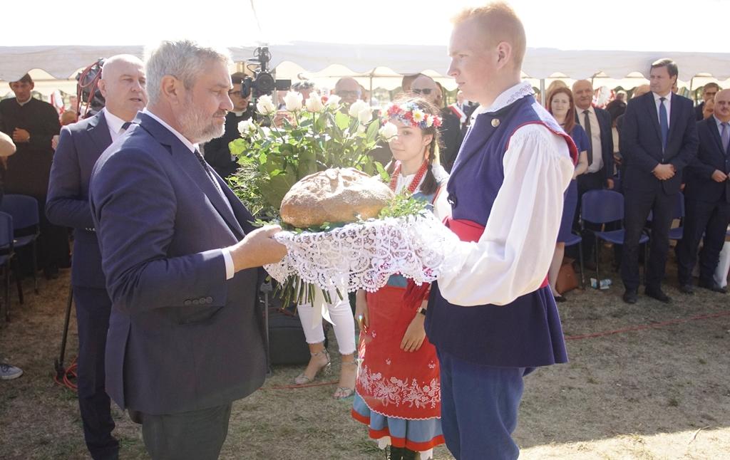 Powitanie min. J. K. Ardanowskiego