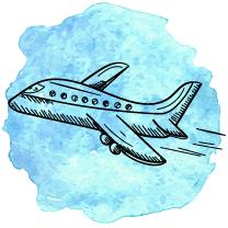 ikona samolot