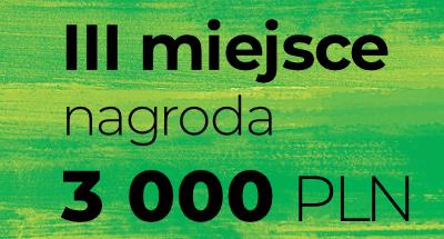III miejsce nagroda 3 000 PLN