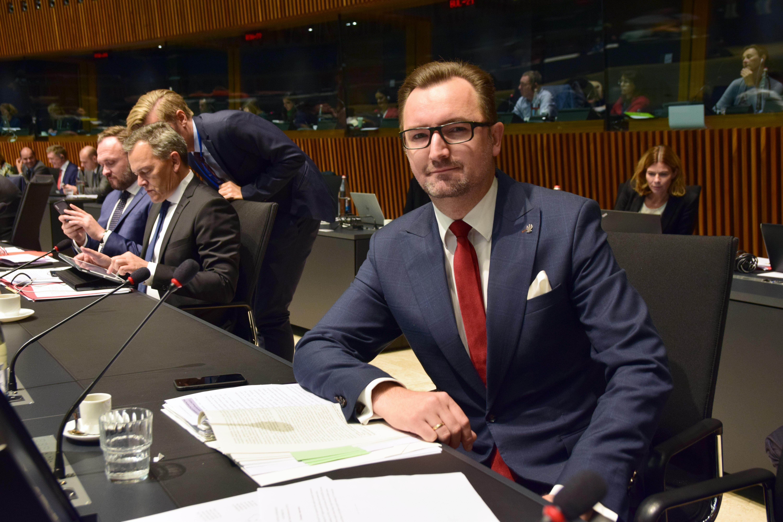 Wiceminister Sławomir Mazurek na Radzie UE ds. Środowiska