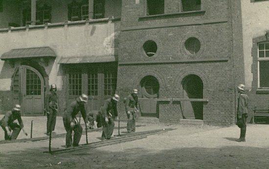 Ćwiczenia w jednostce przy ul. Grunwaldzkiej