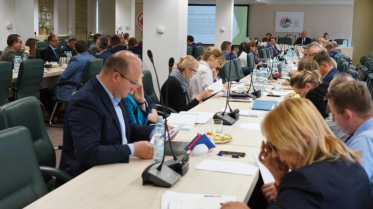 Spotkanie dotyczące narzędzi zarządzania ryzykiem w Planie Strategicznym WPR na lata 2017-2021