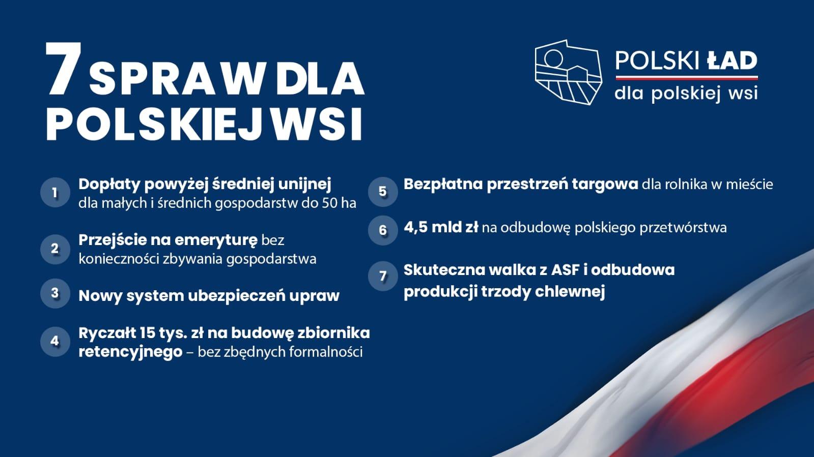 Polski Ład dla polskiej wsi