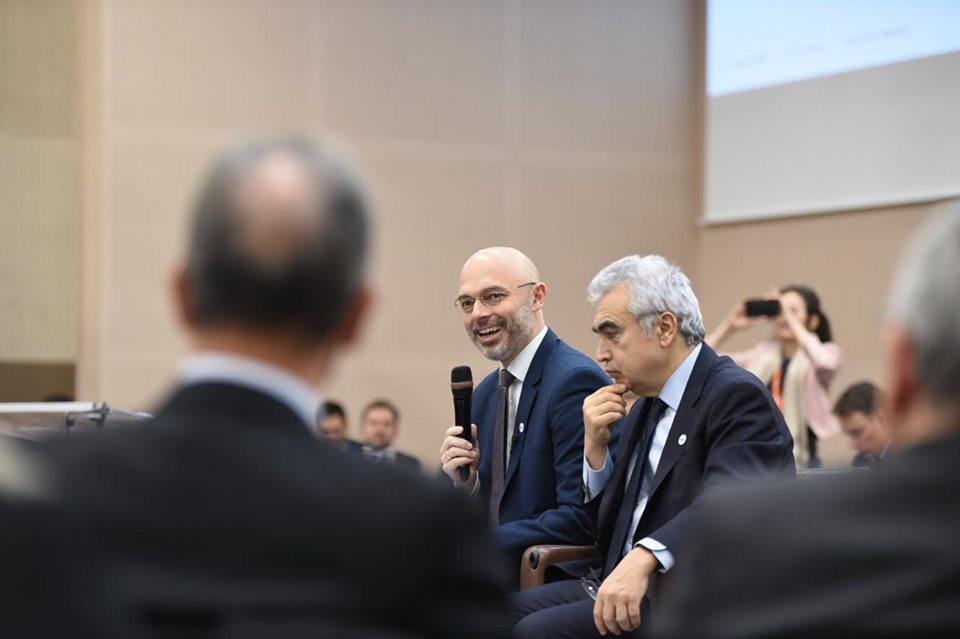 Minister Kurtyka przewodniczy szczytowi MAE w Paryżu