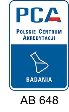 logo PCA - badania AB 648