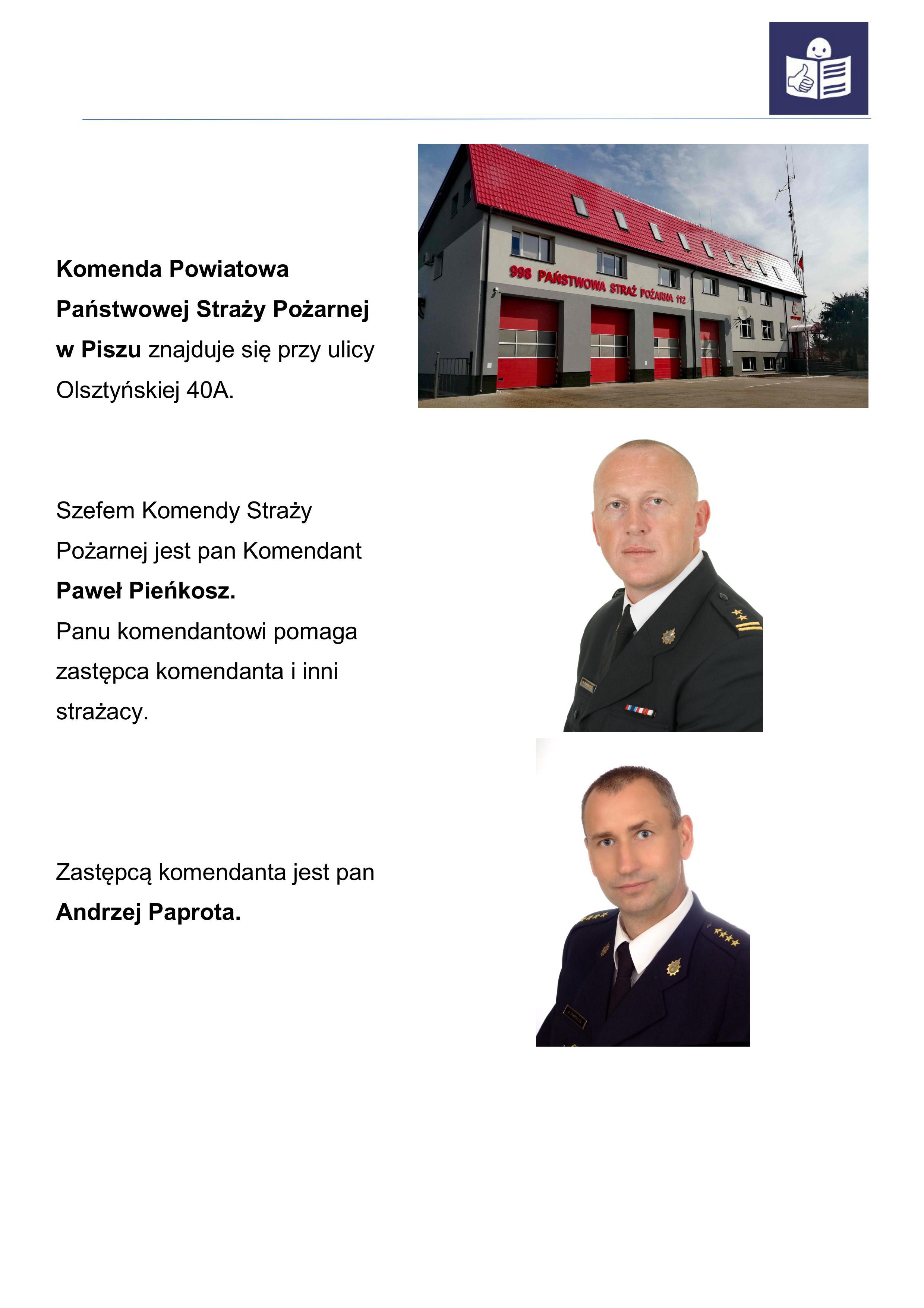 Tekst o straży pożarnej