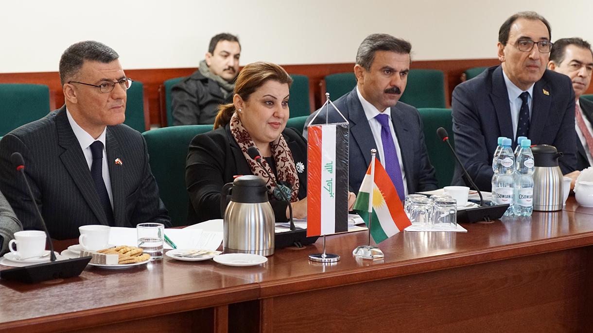 Delegacja Ministerstwa Rolnictwa i Zasobów Wodnych Rządu Regionalnego Kurdystanu Republiki Iraku