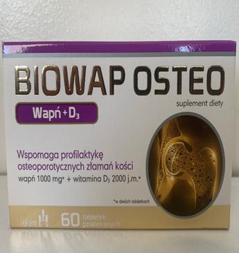 Biowap Osteo D3 (60 tabletek)