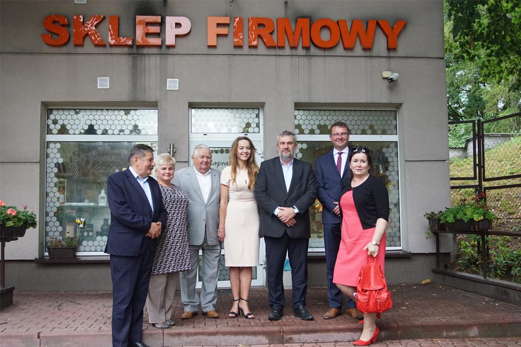 Wizyta Ministra Ardanowskiego w Spółdzielni Pszczelarskiej APIS w Lublinie
