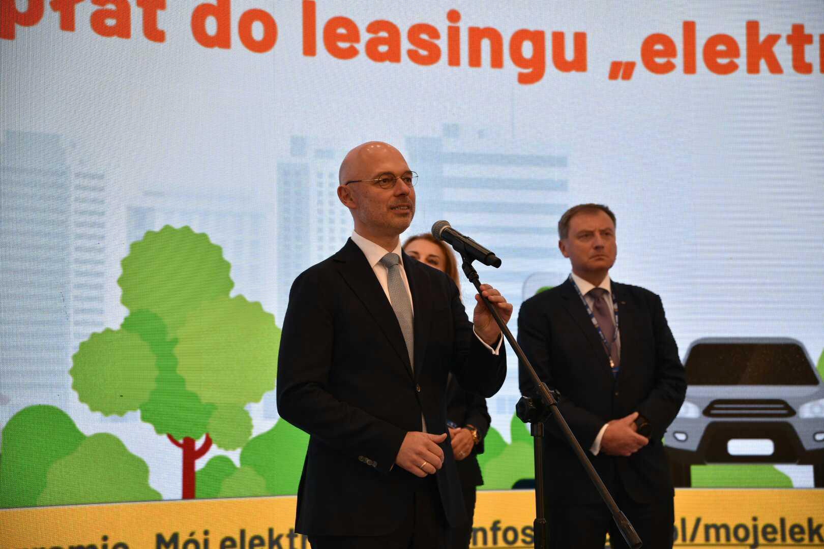 Minister klimatu i środowiska Michał Kurtyka na XXX Forum Ekonomicznym w Karpaczu