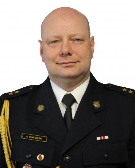 mł. kpt. Artur BINKOWSKI