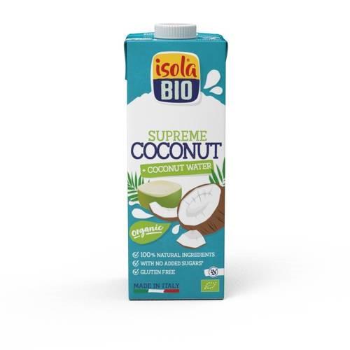 Napój kokosowy zwodą kokosową BEZGL. BIO 1 l
