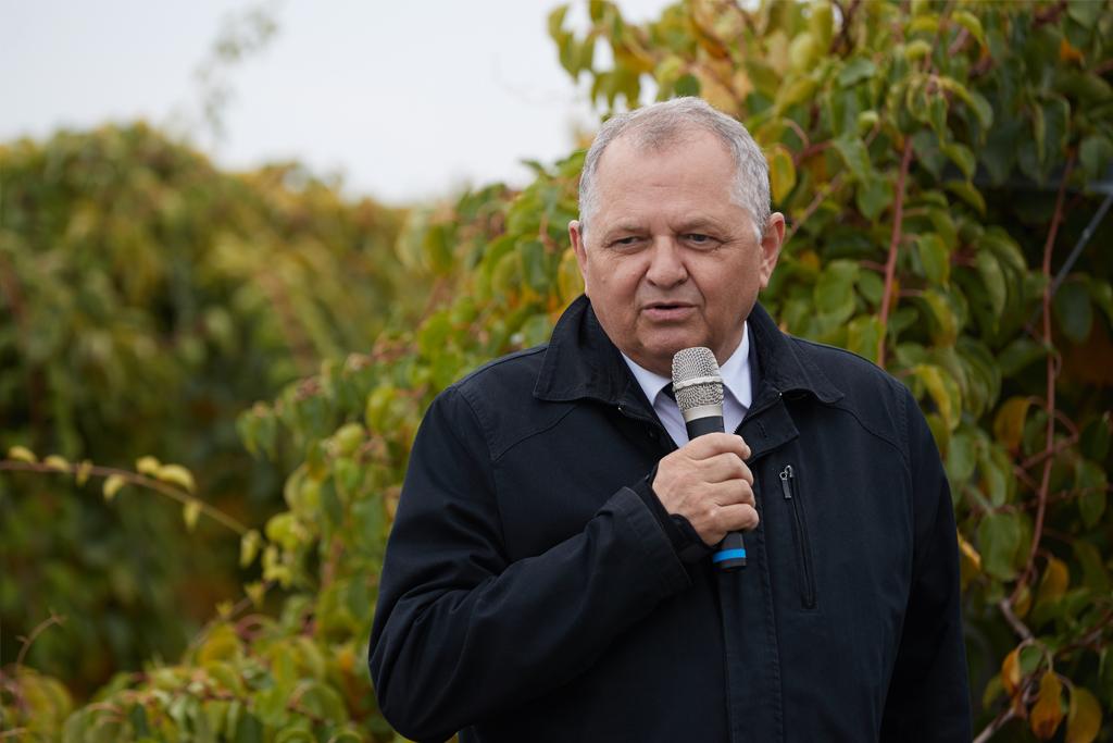 Podsekretarz Stanu Ryszard Zarudzki podczas wystąpienia na konferencji
