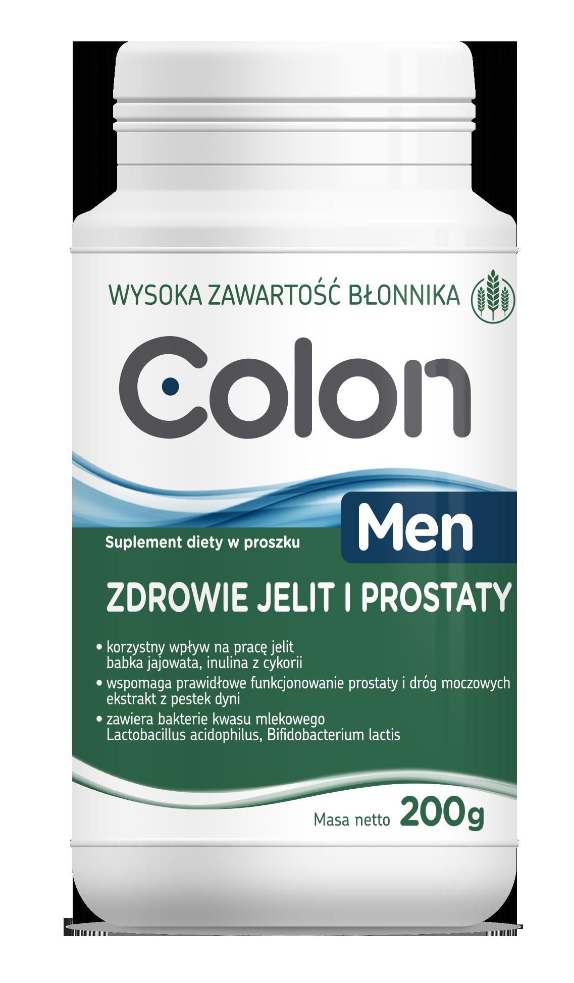 Colon MEN zdrowie jelit i prostaty
