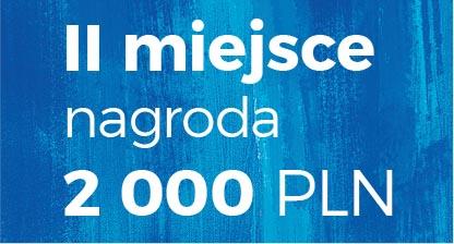 II miejsce nagroda 2 000 PLN