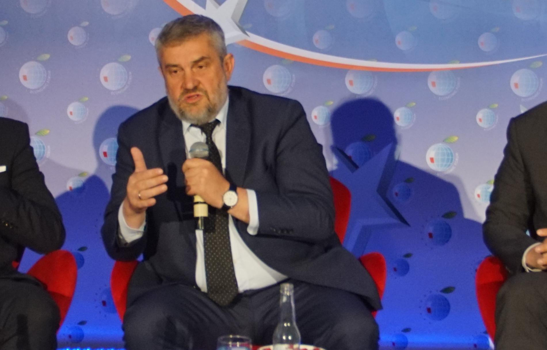 Min. J.K. Ardanowski podczas Forum Ekonomicznego