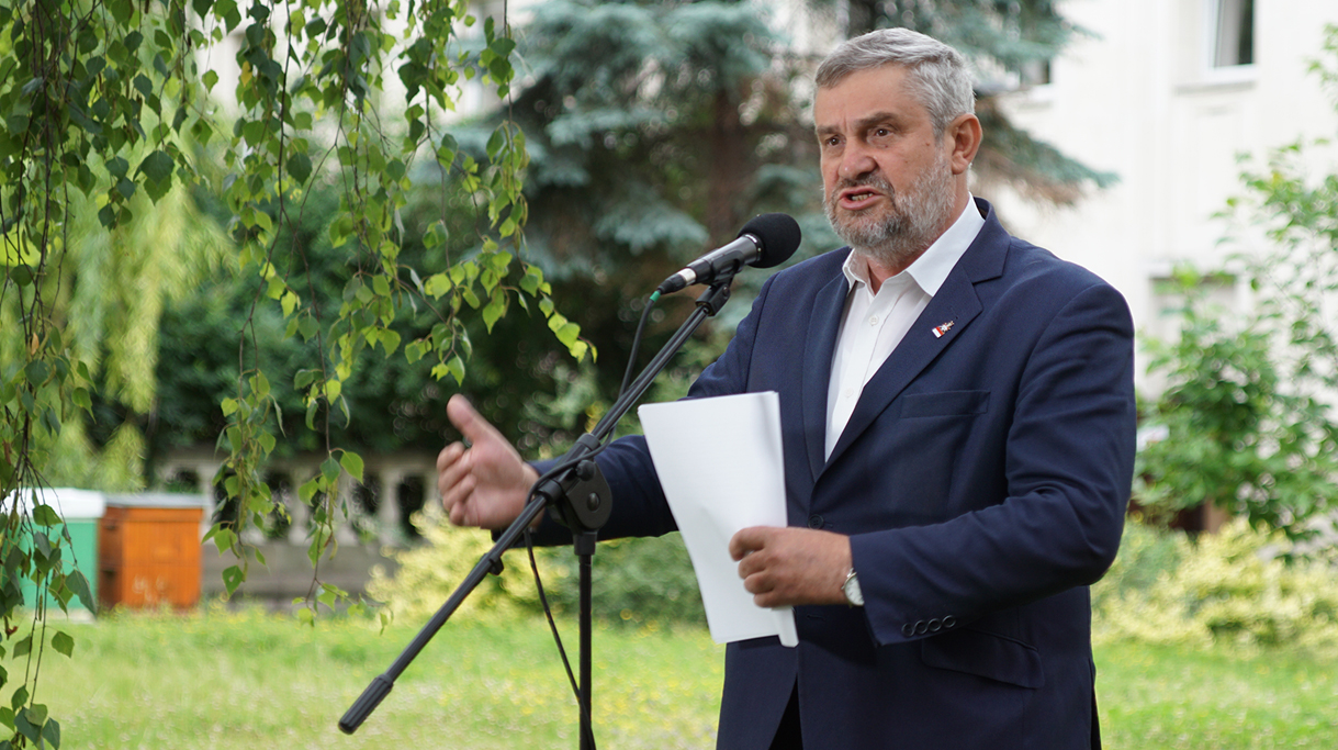 Wystąpienie ministra J. K. Ardanowskiego podczas konferencji prasowej