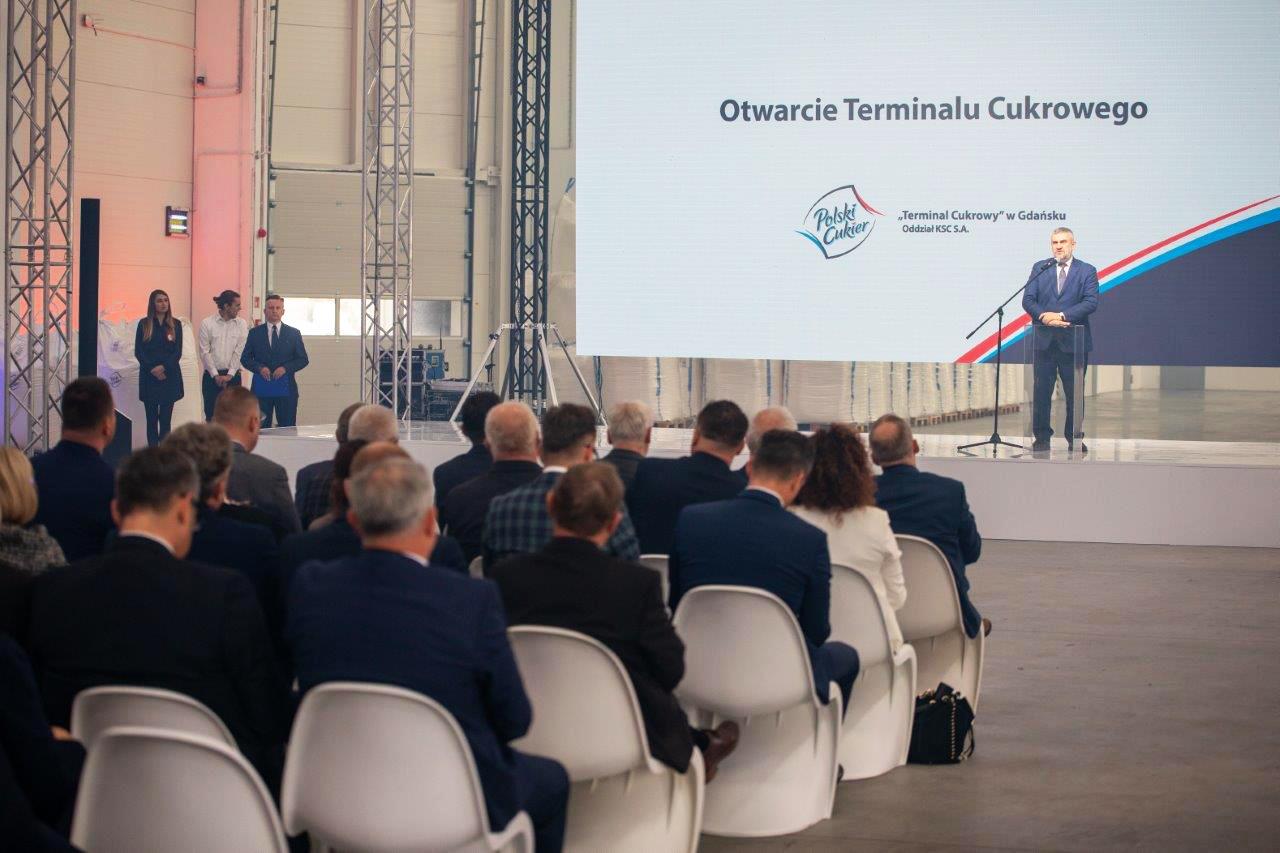 Uroczystość otwarcia Terminalu