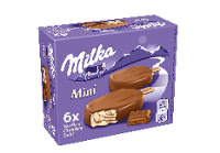 Milka Mini 6 x 50 ml (Vanilla & Chocolate Swirl)