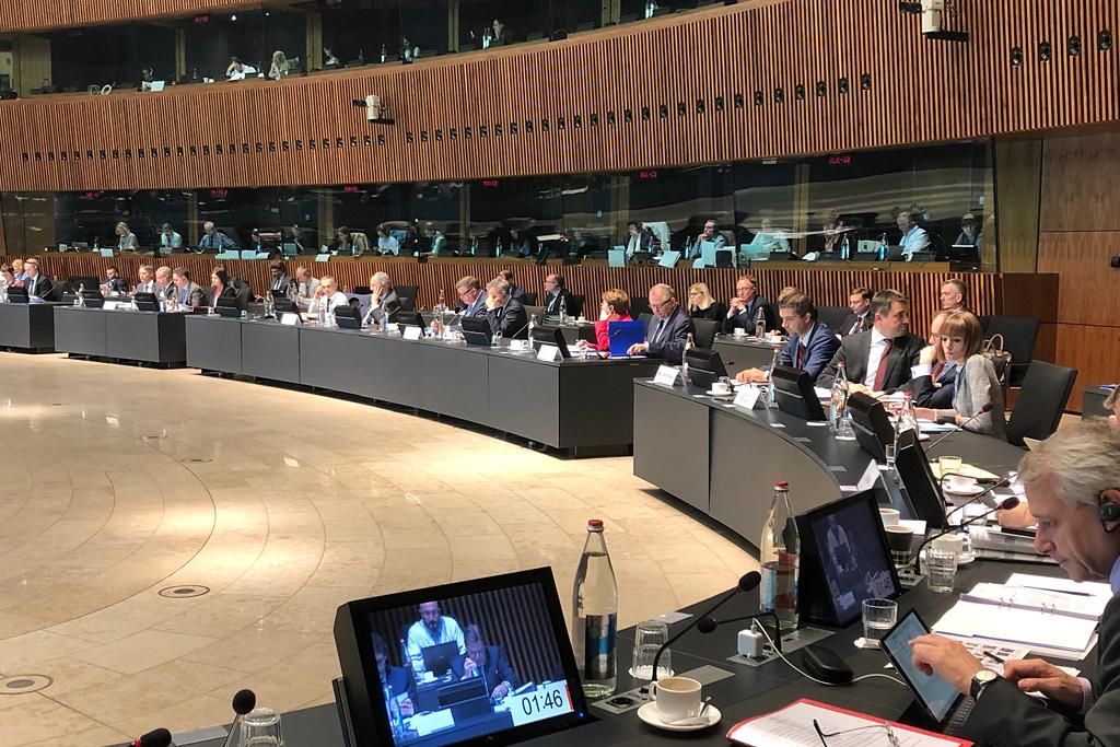 Posiedzenie Rady Ministrów Rolnictwa UE w Luksemburgu