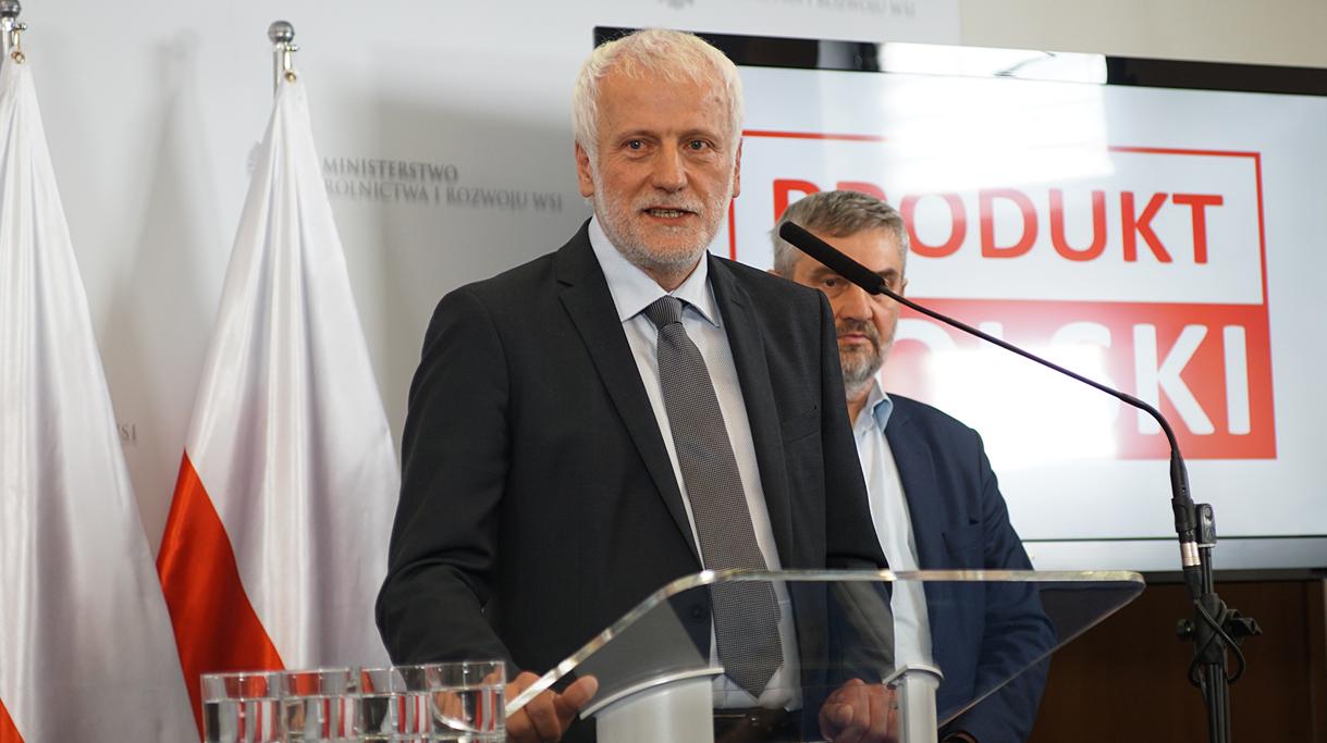 Prezes Zarządu KSC S.A. Krzysztof Kowa podczas wystąpienia