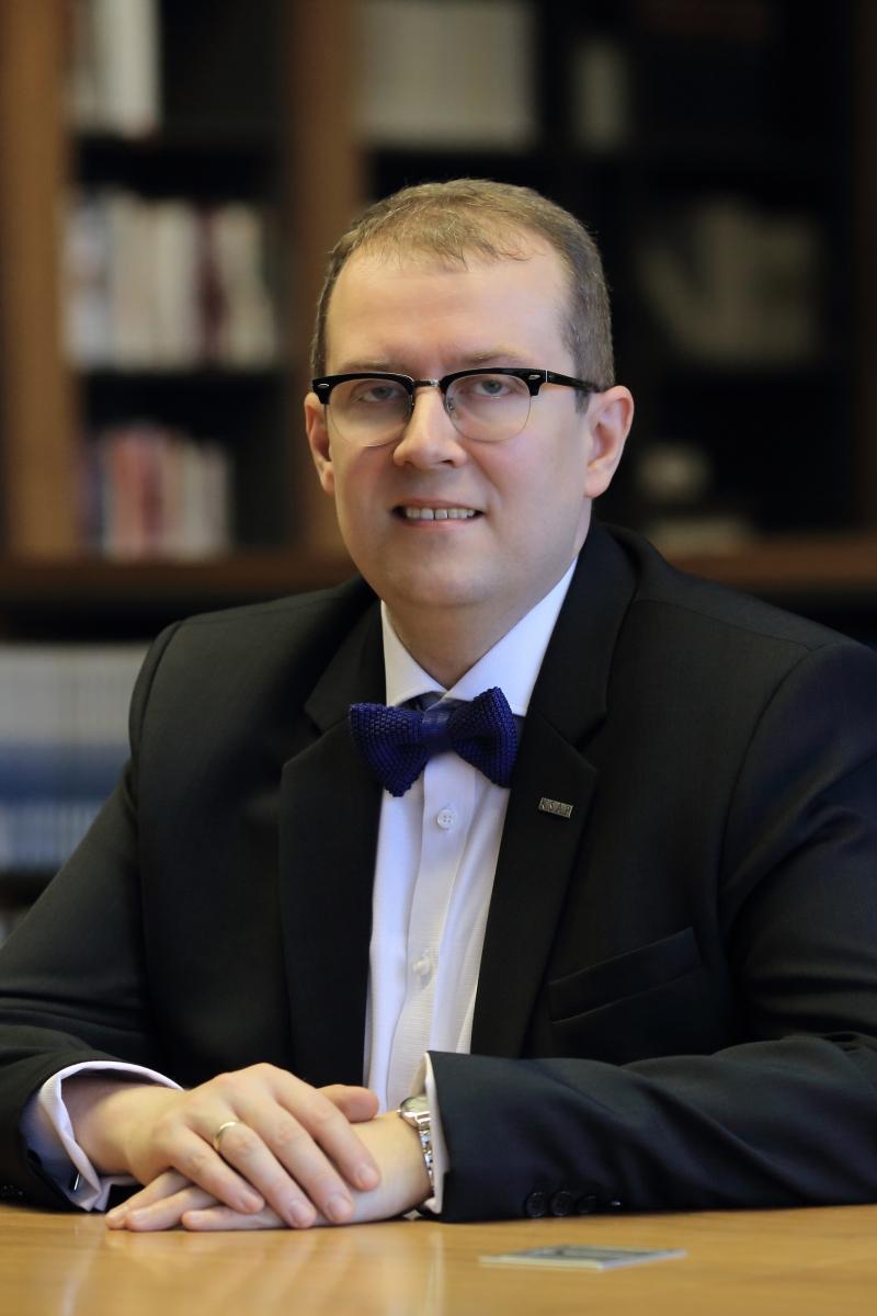 Zdjęcie dyrektora KSAP dr. Wojciecha Federczyka