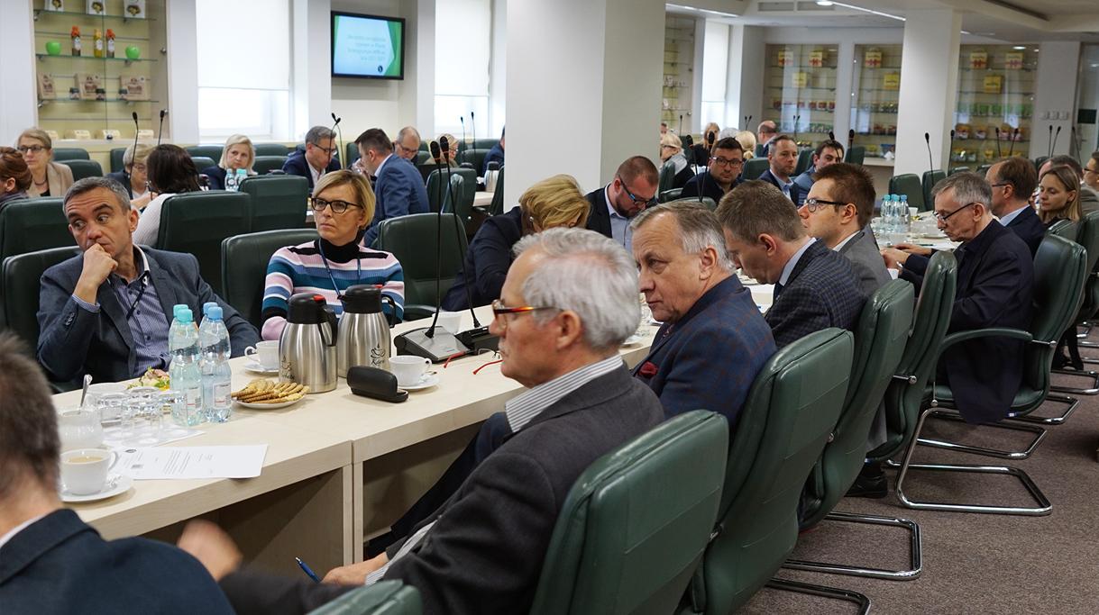 Spotkanie w siedzibie MRiRW, dotyczące narzędzi zarządzania ryzykiem w Planie Strategicznym WPR