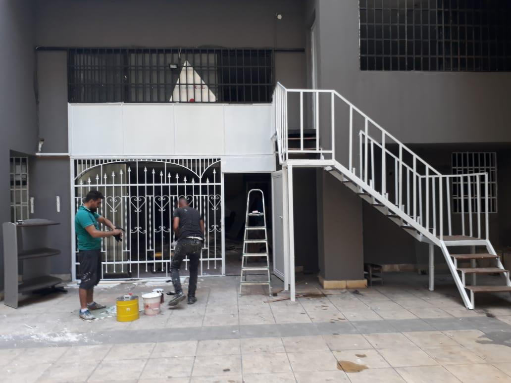 Renovation of a training center in the area of the Burj Barajneh refugee camp, photo: PAH