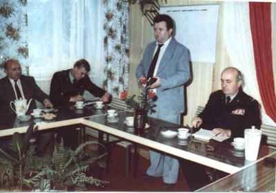 Posiedzenie Komitetu Organizacyjnego Fundacji Sztandaru - 17 czerwca 1985