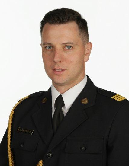 oficer prasowy KP PSP w Ostrzeszowie