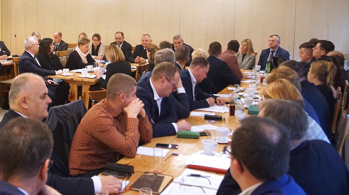 Spotkanie ministra J. K. Ardanowskiego i podsekretarza stanu R. Zarudzkiego z dyrektorami ODR